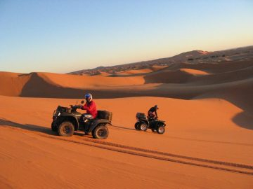 days from marrakech to desert,Desert Morocco, Ouarzazate ait ben haddou,Quad and bike in Erg Chebbi Merzouga