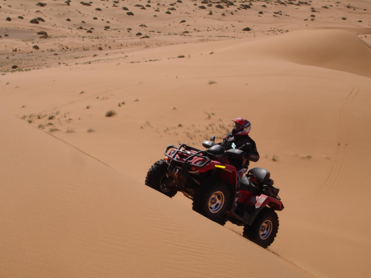 Quad and bike in Erg Chebbi Merzouga