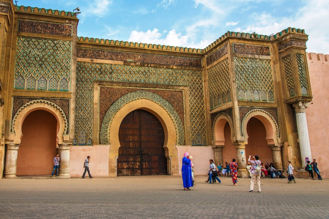 Meknes,Moroccan imperial cities, Morocco, 12 Days tour from Agadir discover Morocco