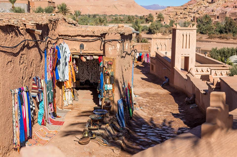 Ait Ben Haddou,Travel to Sahara, Days from Marrakeck to Fes