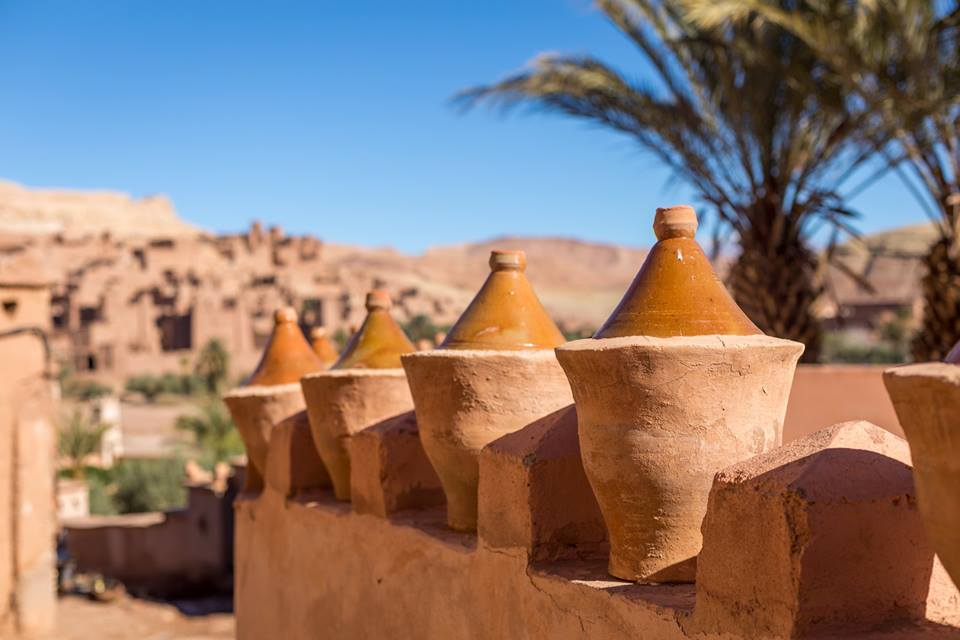 The Ksar of Aït-Ben-Haddou is a striking example of southern Moroccan architecture