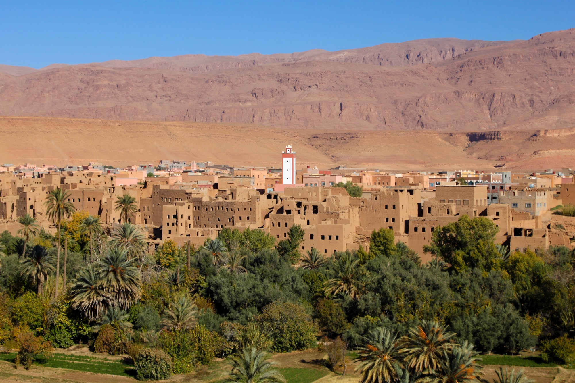 The most beautiful route between Marrakech and Ouarzazate