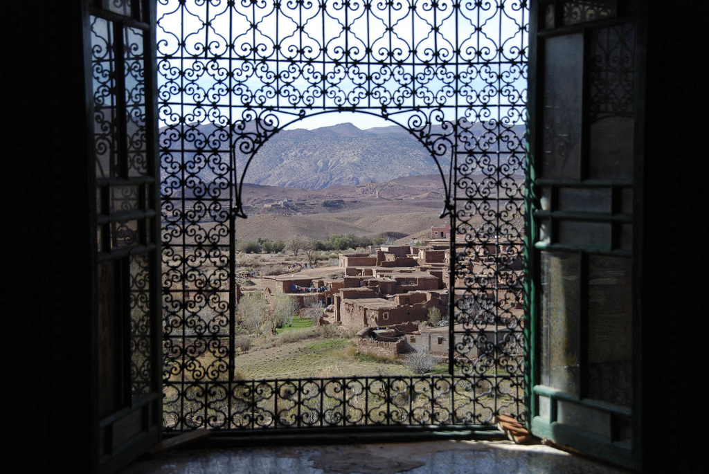 The Telouet Kasbah stands on the old caravan route towards the Sahara, between Ait Ben Haddou and Marrakesh, 3 Days tour from Fes to Marrakech