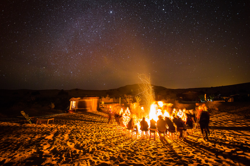 Night Desert Camp, Visit M'Hamid El Ghizlane