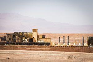 The Atlas Studios in Ouarzazate in southern Morocco.