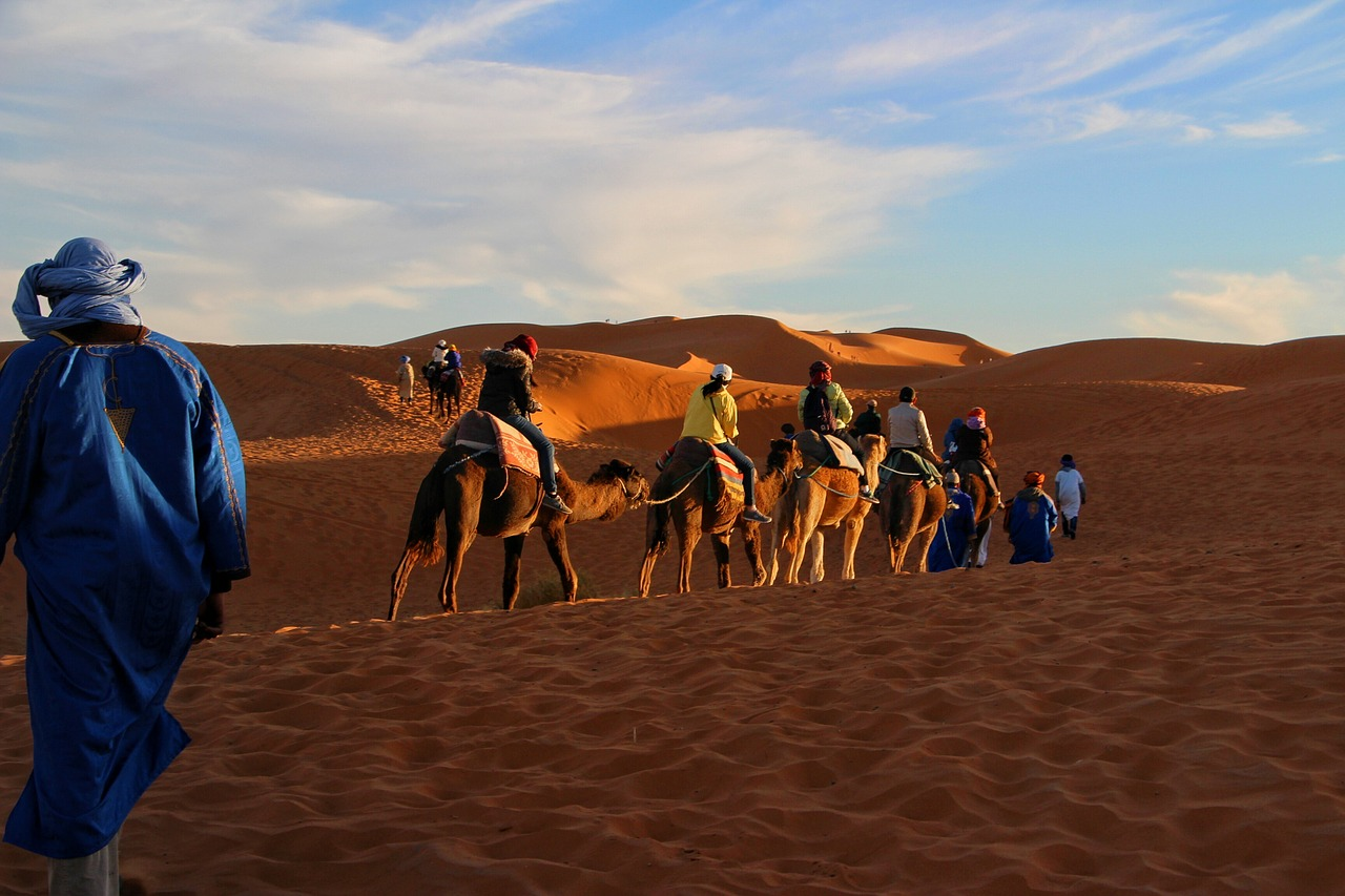 days from marrakech to desert;Camel Trekking in the Moroccan Sahara