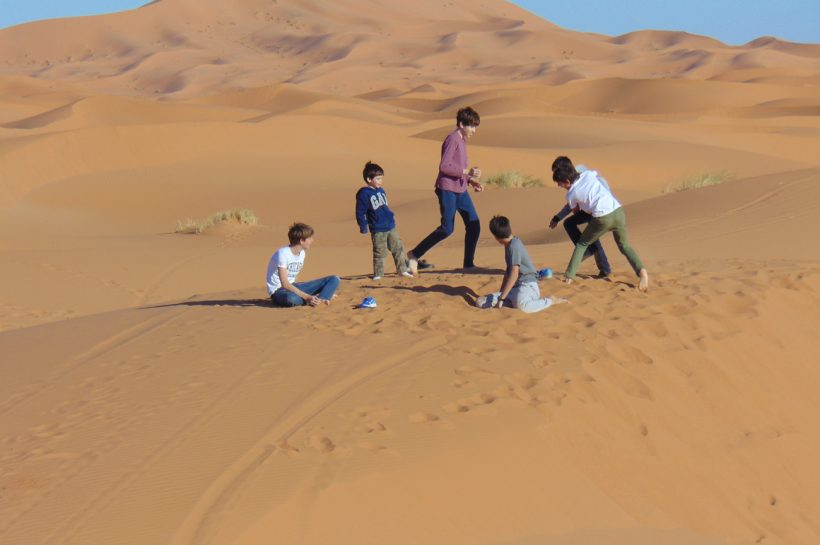 family holidays,3 days from marrakech to desert