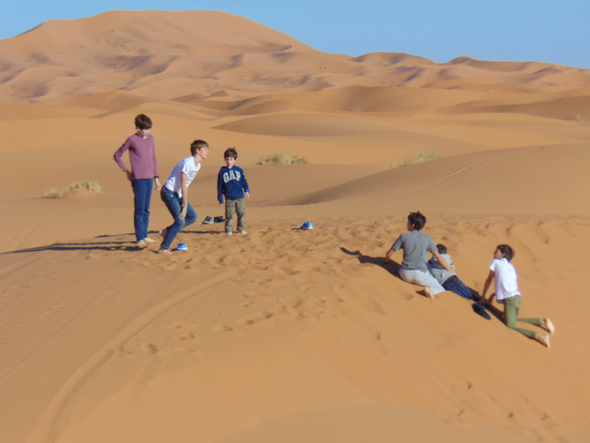 Travelling with children to Morocco